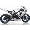 2009-2011 GSXR 1000 Taylormade Carbon Trim Slip-On Exhaust Kit