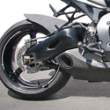 08-11 Honda CBR 1000RR Taylormade Exhaust No Trim, RaceBody ONLY