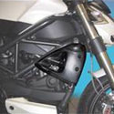 09-10 Taylrmade Ducati Streetfighter Right Side Carbon Rad Cover
