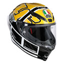 AGV Corsa R Full Face Motorcycle Helmet Rossi Goodwood