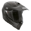 AGV AX-8 DUAL EVO Full Face Motorcycle Helmet Solid Black