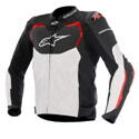 Alpinestars GP Pro Air Leather Motorcycle Jacket Black/White/Red