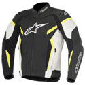 Alpinestars GP Plus R V2 Leather Jacket Black/White/Fluo Yellow