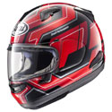 Arai Signet-X Full Face Motorcycle Helmet Place Red
