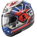 Arai Corsair-X Full Face Motorcycle Helmet Dani Samurai-2 Blue