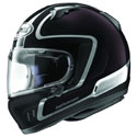 Arai Defiant-X Full Face Motorcycle Helmet Outline Black