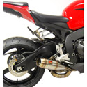08-12 Honda CBR1000 RR Competition Werkes GP Slip-On Exhaust