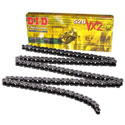 DID 520 VX2 X-Ring Off-Road/Street Chain 120 Links Natural Steel
