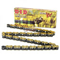 DID 525 VX X-Ring Off-Road/Street Chain 120 Links Gold