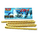 DID 525 ZVMX X-Ring Street/Race Chain 120 Links Gold