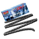 DID 525 ZVMX X-Ring Street/Race Chain 120 Links Natural Steel