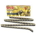 DID 530 VX X-Ring Street Chain 120 Links Gold