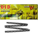 DID 530 VX X-Ring Street Chain 120 Links Natural Steel
