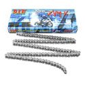 DID 530 ZVMX X-Ring Street/Race Chain 110 Links Natural Steel