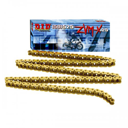 DID Gold Premium X-Ring Chain For All Bikes 120 Links