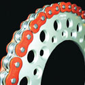 EK 530 ZVX3 Series Supersport Chain - 120 Links - Orange