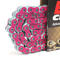 EK 525 MVXZ2 Series Supersport Chain - 120 links - Pink
