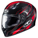 HJC FG-17 Toba MC-1 Helmet Black/Red