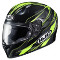 HJC FG-17 Toba MC-3H Helmet Black/Hi Vis Yellow