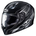 HJC FG-17 Toba MC-1 Helmet Black/Grey