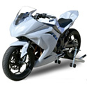 2013 Kawasaki Ninja 300 Complete Hotbodies Racing Bodywork Kit