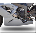 2013 Kawasaki ZX6R 636 Hotbodies Racing Lower Bodywork Panel