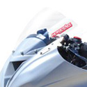 2013 Kawasaki ZX6R 636 Hotbodies Racing Windscreen Clear