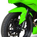 2013 Kawasaki Ninja 300 Hotbodies Color Form Front Fender