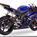 2006-07 Yamaha YZF R6 MGP Growler Slip-On Carbon Fiber Exhaust