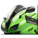 2007-2008 Kawasaki ZX6R Hotbodies Windscreen