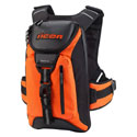 Icon Squad III Motorcycle Backpack Mil Spec Orange
