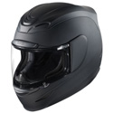 Icon Airmada Motorcycle Helmet Rubatone Black Size Medium
