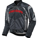 Icon Contra Textile Motorcycle Jacket Slate