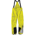 Icon PDX Motorcycle Rain Bib Pants Hi-Viz Yellow