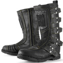 Icon Women's 1000 Elsinore Motorcycle Riding Boot Black