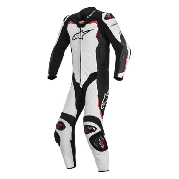 Alpinestars GP Pro 1Pc Leather Suit Black/White/Red Size 54