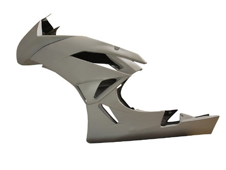 09-12 Kawasaki ZX6R Armour Bodies Pro Series SuperSport Bodywork