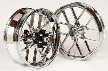Carrozzeria Forged Aluminum V Track Singlesided 5 6 Spoke