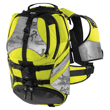 Icon Squad II Motorcycle Backpack Mil-Spec Yellow