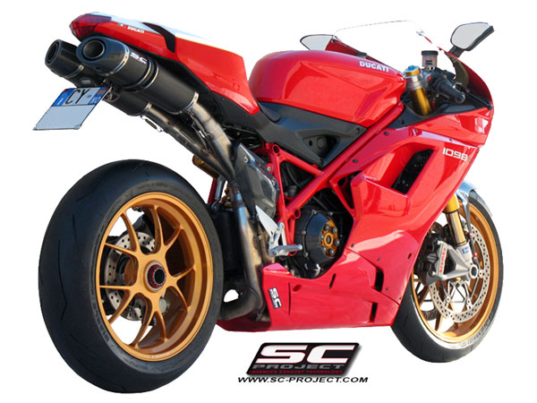 Ducati 1198/1098/848 SC-Project Oval Line Silencers