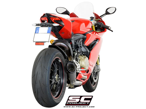 Ducati Panigale 1299/S SC-Project Collector Pipe w/S1 Silencer