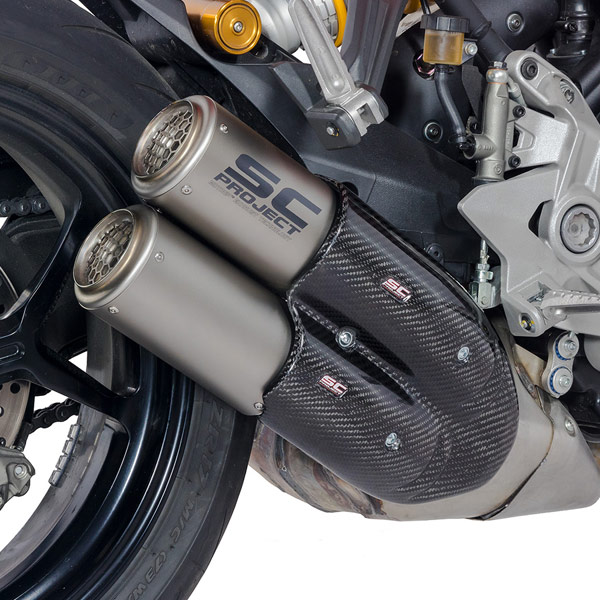 17-18 Ducati Supersport SC-Project CR-T Twin Silencers