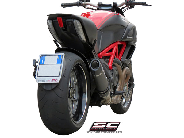 Ducati Diavel SC-Project Oval Silencer