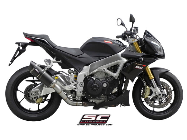 11-14 Aprilia Tuono APRC SC-Project Oval Racing Silencer