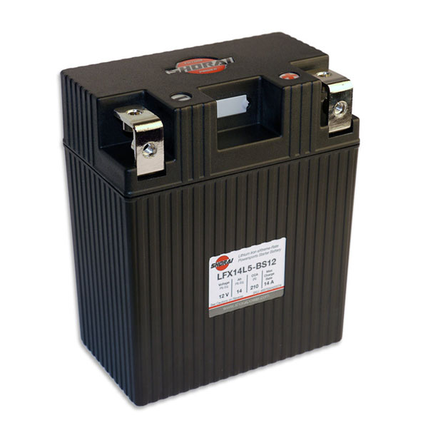 Shorai Lithium Iron Battery LFX14L5-BS12