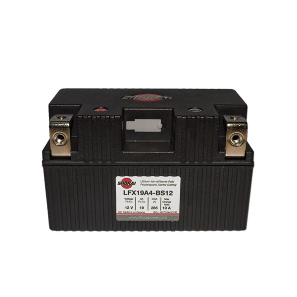 Shorai Lithium Iron Battery LFX19A4-BS12