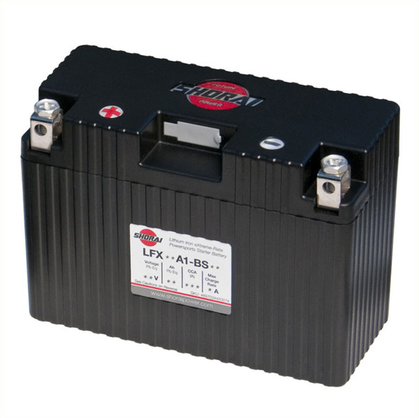 Shorai Lithium Iron Battery LFX18A1-BS12