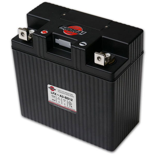 Shorai Lithium Iron Battery LFX24A3-BS12