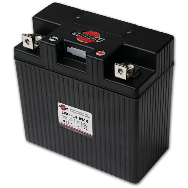 Shorai Lithium Iron Battery LFX24L3-BS12