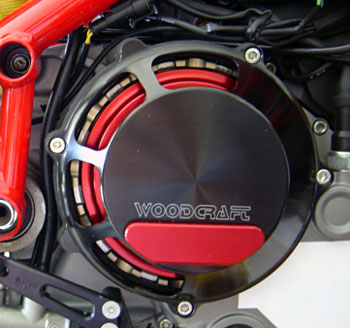 Multistrada/Hypermotard Woodcraft Dry Clutch Cover Assembly